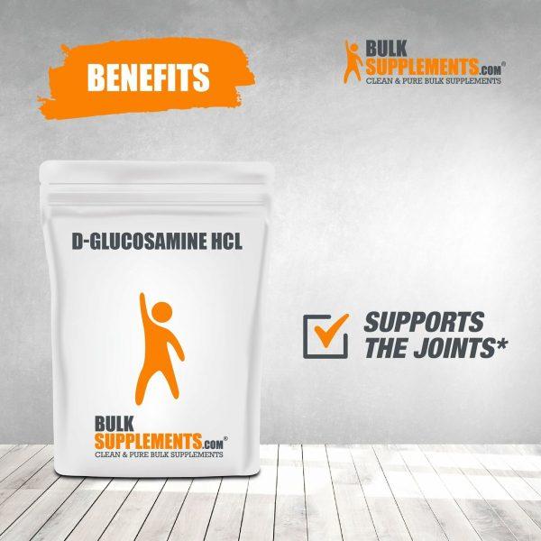 BulkSupplements.com D-Glucosamine HCl 7