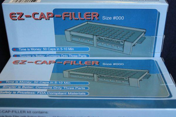 50 holes EZ-CAP-FILLER cap filler machine size 4,3,2,1,0,00,000 respectively 7