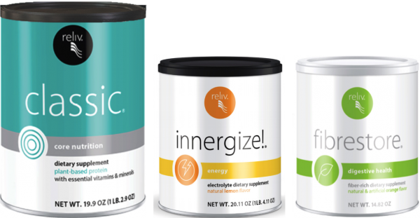 Reliv Classic, Now, Innergize, & Fibrestore - Bundle Discount + Free Shipping!!! 1