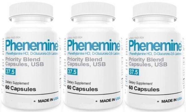 3 Phenemine Slimming Adipex Best Diet Pills Appetite Suppressant Supplement 37.5 2