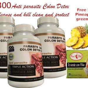 300 Parasite Cleanse DETOX Liver Colon Yeast Blood KILL & COLON CLEANSER detox