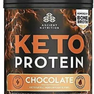 Ancient Nutrition Keto Protein 540 g Chocolate Clearance EXP 03/2021