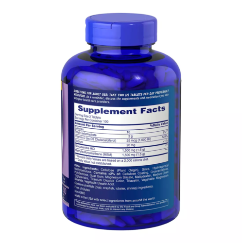 Osteo Bi Flex Triple JOINT Strength Turmeric 200 Tablets Glucosamine HCI 08/22 1