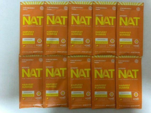 New Pruvit Keto OS NAT Harvest Sunrise 5,10 & 20 Packs  Free Shipping 2
