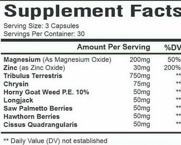 Cialix Men Enhancement Supplement Enhancing 60+30 Pills for men Libido -drive 3