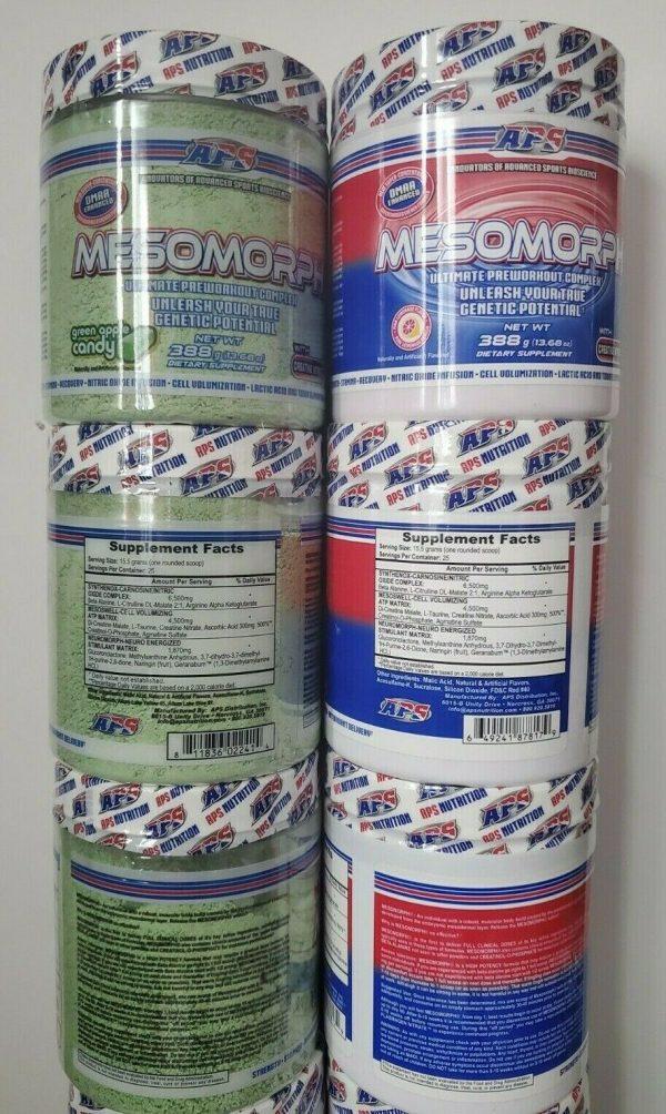 APS Mesomorph 388 grams OG Formula **Choose Your Flavor**