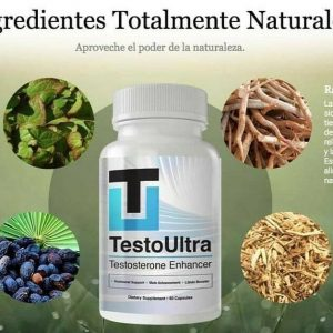 *TESTOSTERONE*TESTOULTRA * 100% ORIGINAL* SALE* Natural*Bottle X 60 Caps