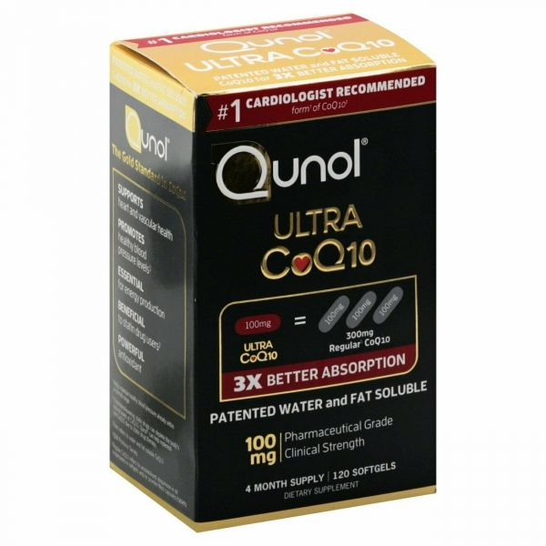 Qunol Ultra CoQ10 Better Absorption Supplement Tablet - 120 Count Exp 2024+. NEW