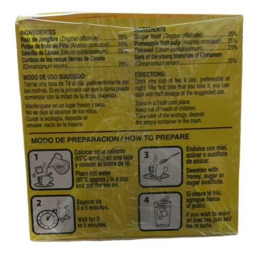 ORIGINAL‼️ 2 PACK Chupa Panza Detox Ginger Tea 60 Day Supply Te Chupa Pansa 4