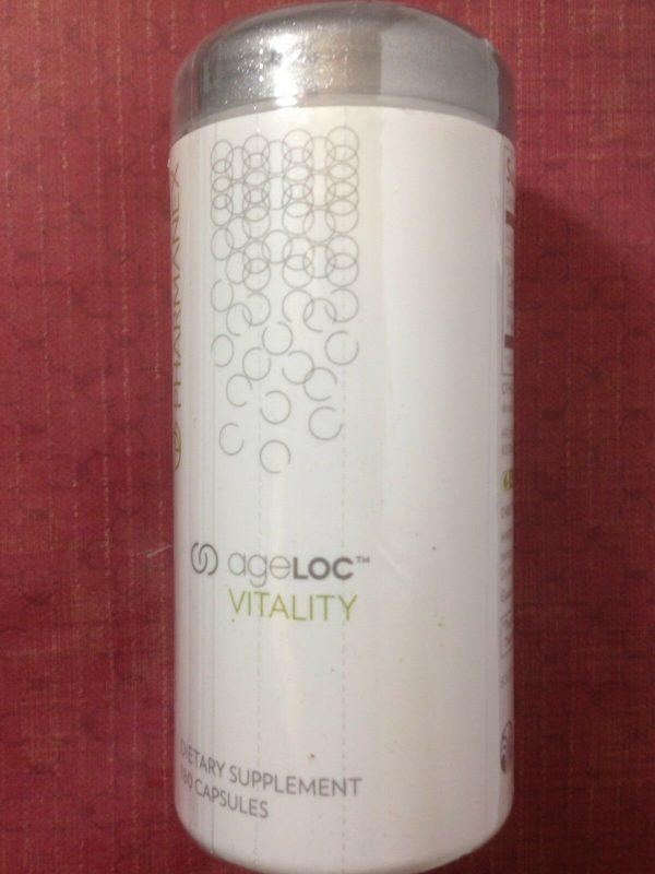 Nu Skin Pharmanex ageLOC Vitality, 180 Capsules, Exp 09/2022, New, Sealed