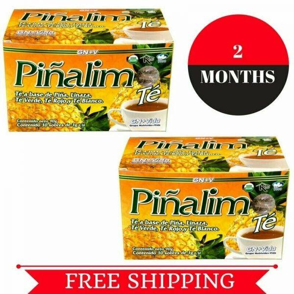 2 Te Pinalim Tea GN+Vida ENVIO GRATIS 60 days Pinalim Pineapple Diet  FREE SHIP 5