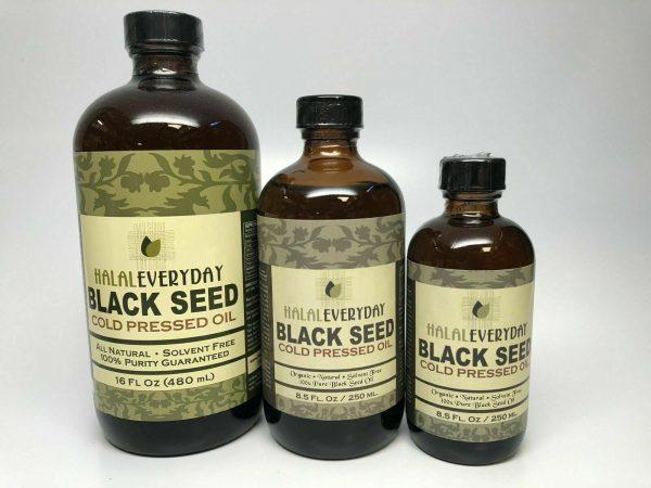 Black Seed Oil - 100% Pure Organic COLD PRESSED Cumin Nigella Sativa Unrefined 4