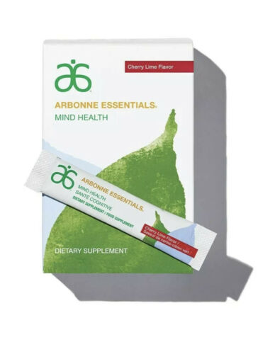 Arbonne Mind Health Cherry Lime Flavor  #6102 (30 Sticks) - Exp date: 06/2022