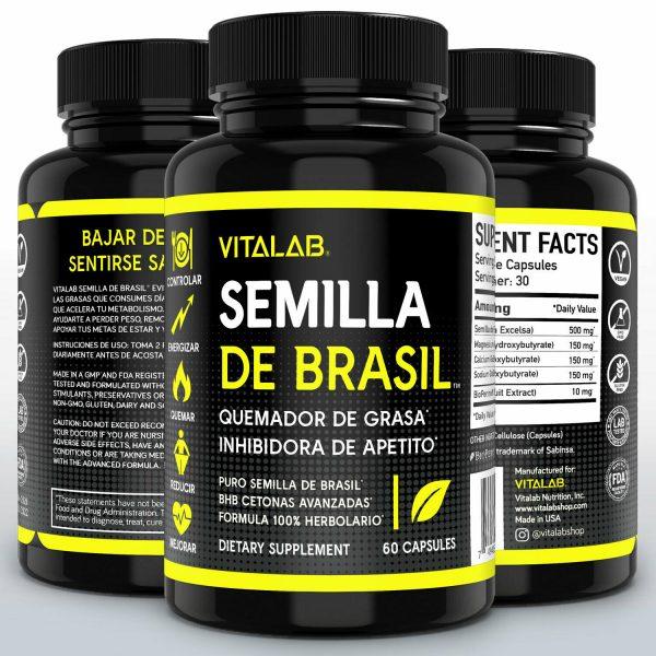 Semilla De Brasil Original Pastillas Para Bajar De Peso Semilla De Brazil 60ct 4