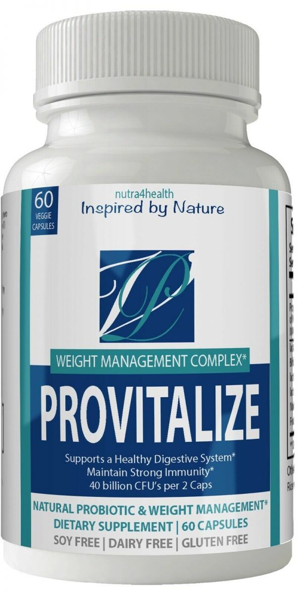 2 Bottle Pack Provitalize Probiotic Weight Management Pills ORIGINAL by n4h 1