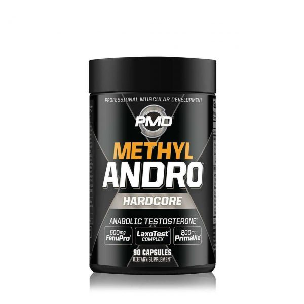 PMD METHYL ANDRO HARDCORE Mens Energy & T boster 4 in one 2