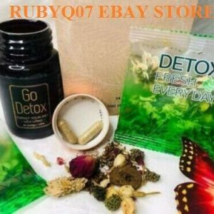 01 Combo of Go Detox Herbal Tea and Fresh Everyday - Natural Weight Loss 1