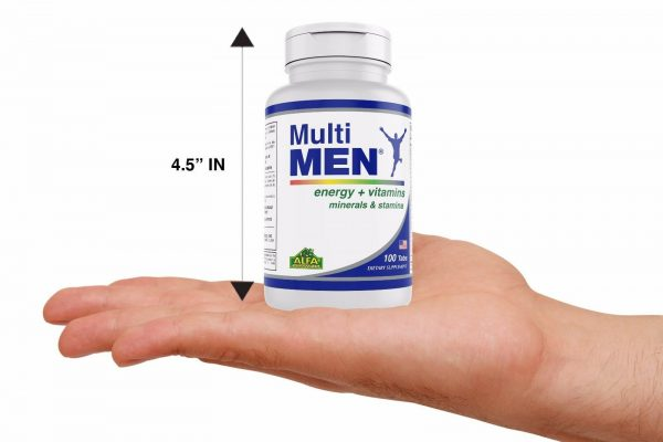 Multi Men / Vitamins and Minerals. Antioxidant. Immune System Support 3