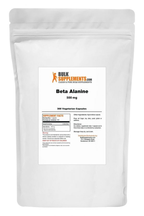 BulkSupplements.com Beta Alanine 11