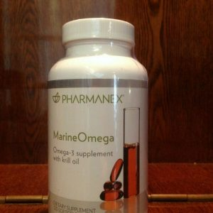 Nu Skin Pharmanex Marine Omega MarineOmega, 120 Softgel, New, Exp 11/2022
