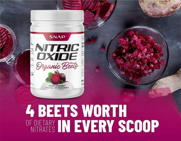 Beet Root Powder Organic Nitric Oxide Booster Beets Circulation Superfood - 12oz 3