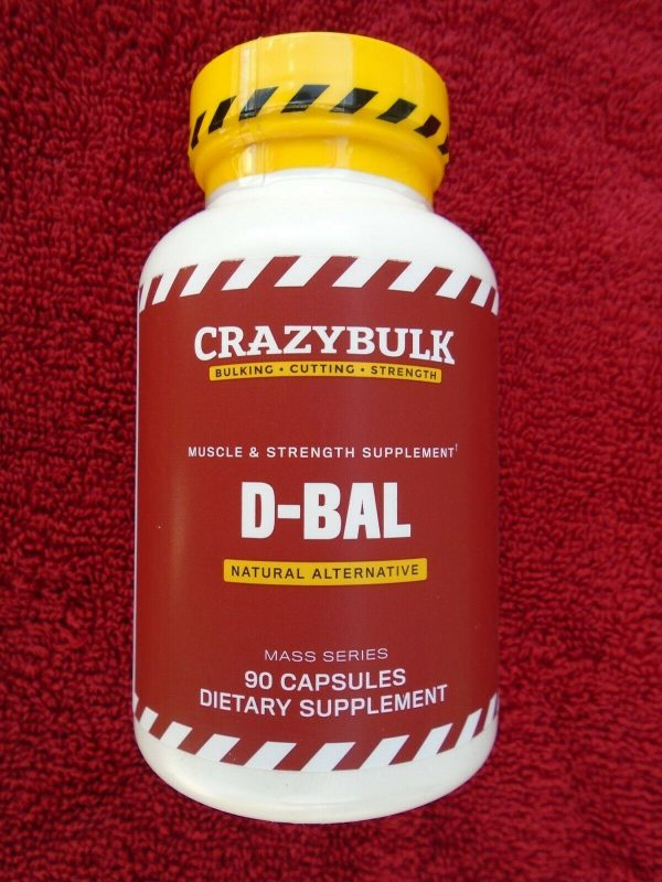 """""""D-BAL"""" MUSCLE & STRENGTH SUPPLEMENT Natural Alternative 90 Caps. NEW & Sealed!!"""