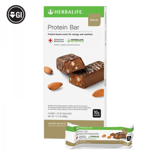 Herbalife Protein Bar Deluxe: 14 Bars per Box (ALL FLAVORS) , New Exp 2022 1