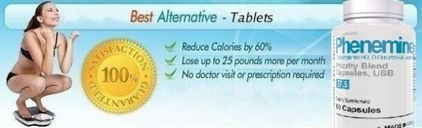 1 CT Phenemine Strong Best 37.5 375 Slimming Diet Pills  Adipex 37.5 P That Work 7