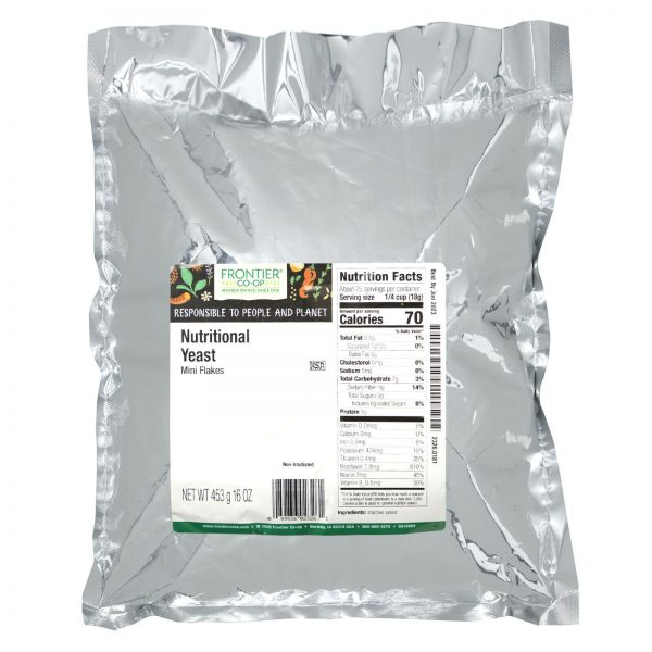 Nutritional Yeast, Mini Flakes, 16 oz (453 g) 1