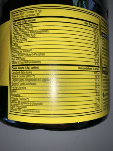 C4 The Original Pre Explosive Workout Pink Lemonade, 60 total Servings 1