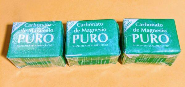 3CT Carbonato de Magnesio PURO Coqui 3CT Magnesium Carbonate† De merito San Luis