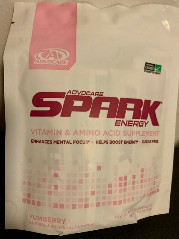 Advocare Spark 14 Stick Pouches - INDIVIDUALLY SEALED -15 flavors to choose from 2