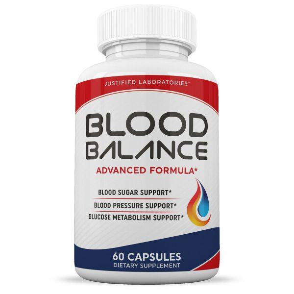 Blood Balance Advanced Formula Cholesterol Blood Sugar Pressure Support 2 Pack 1