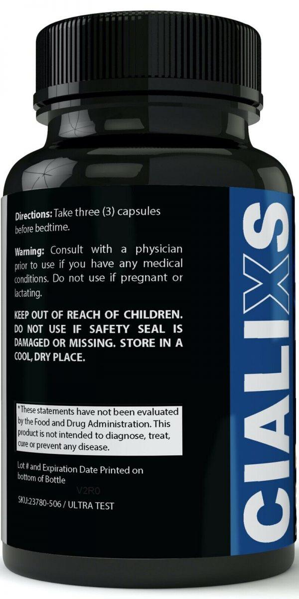 CialiXS Male Enhancement Supplement Enhancing Pills for Men 1 Month Supply 1