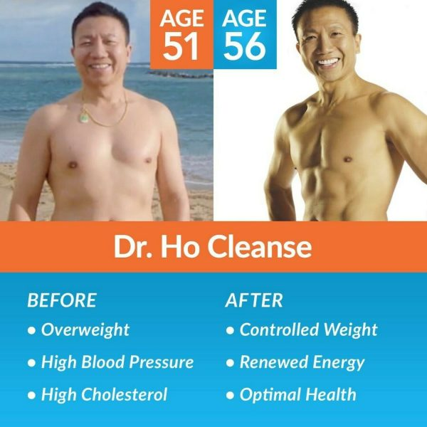 Dr. Ho Cleanse & Restore - Detox - Eliminate Built-Up Toxins and Waste 1