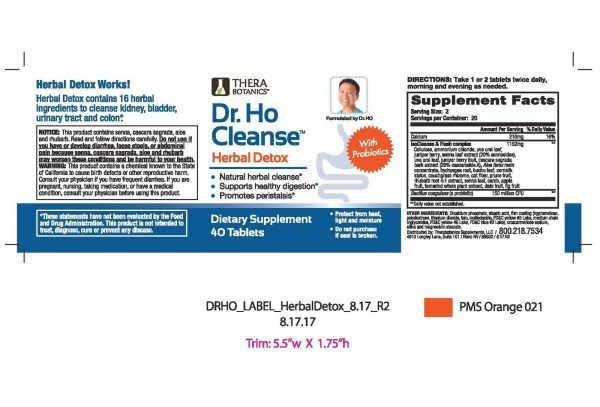 Dr. Ho Cleanse & Restore - Detox - Eliminate Built-Up Toxins and Waste 8