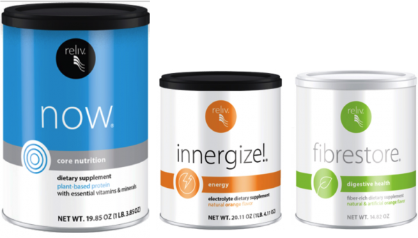 Reliv Classic, Now, Innergize, & Fibrestore - Bundle Discount + Free Shipping!!! 2