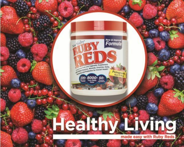 Ruby Reds Superfood Powder Supplement - 30 Servings - Free Shipping - Brand New 2
