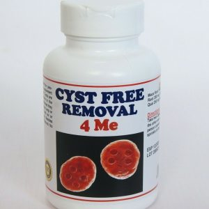 CYST FREE REMOVAL 4 ME - TO TREAT & PREVENT Made in USA - 120 capsules
