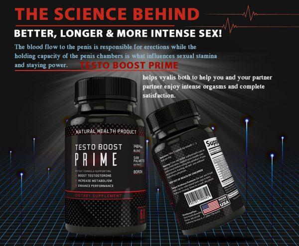 Testosterone Booster Male Enhancement,Pills,Improve Sex Stamina Performance 60ct 3