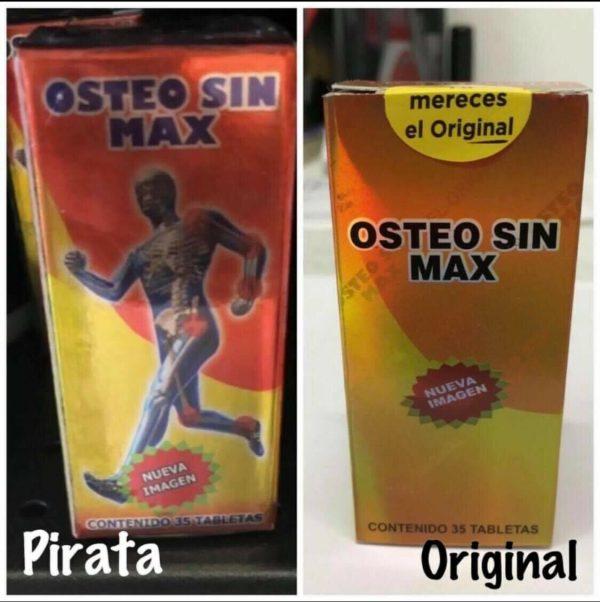 Osteo Sin Max, EL ORIGINAL! NO ACEPTE IMITACIONES! (Pyrtex) NATURAL PAIN KILLER 2