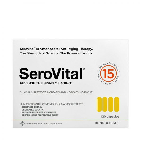 SeroVital Dietary Supplement 120 count 30 days supply NEW IN BOX