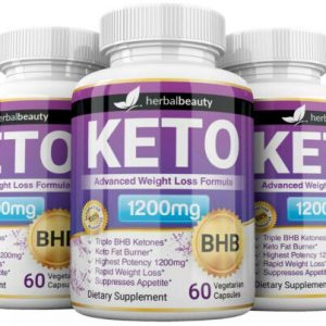 3 x Herbal Beauty KETO BHB 1200mg PURE Ketone FAT BURNER Weight Loss Diet Pills 1