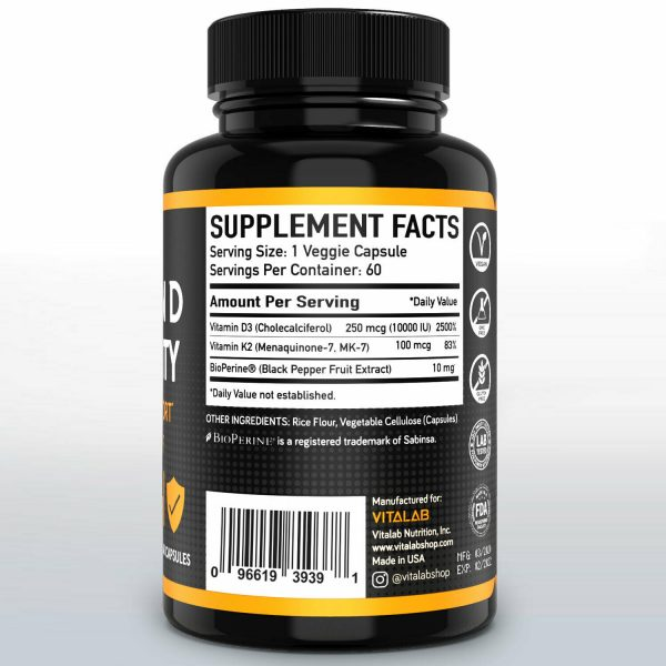 Vitamin D Immune Booster Vitamin D3 Complex 10,000 IU Supplement 2