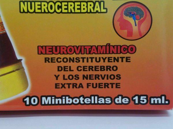 Ampolletas BEDOYECTA NEUROBION HIERRO 10 Botellas 15ml C/U                 CIMAE 7