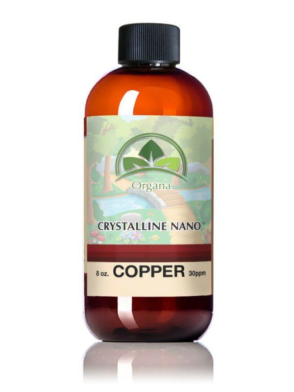 The BEST Nano Colloidal Copper Supplement! 8 oz 30 ppm of Nano Copper! 1