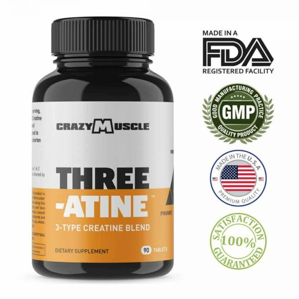 Crazy Muscle® Creatine Monohydrate Pills: [PROVEN] Muscle Building Supplement ✅✅ 11