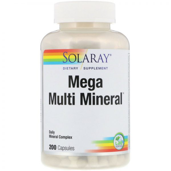 Mega Multi Mineral, 200 Capsules