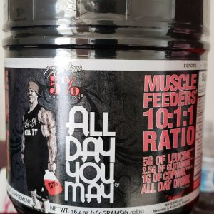 5% Nutrition ALL DAY YOU MAY 30 Servings CHOOSE FLAVOR FREE SHIPPING NEW