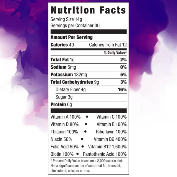 Zurvita- Zeal for Life- 30-Day Wellness Canister- Bold Grape 2